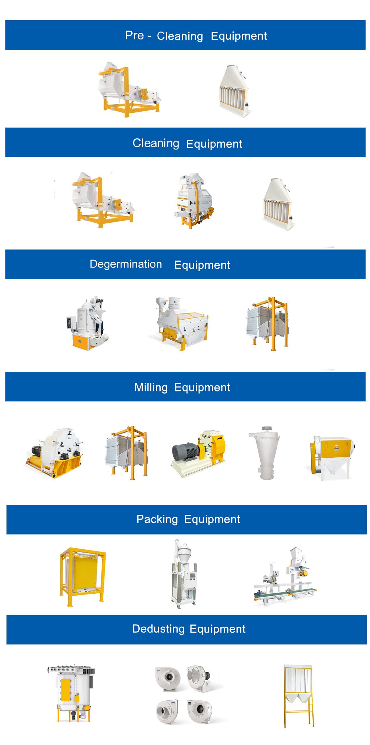 Conjuntos completos de triturador de farinha