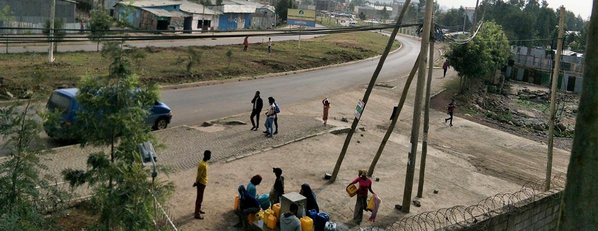 Construir estrada para os aldeões