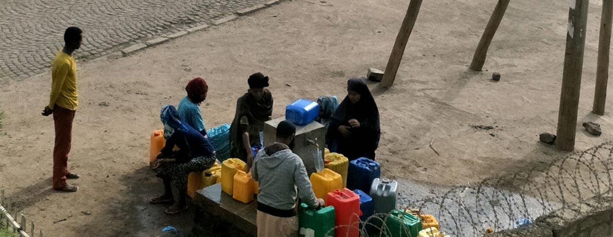 Construa bem para fornecer água para os aldeões