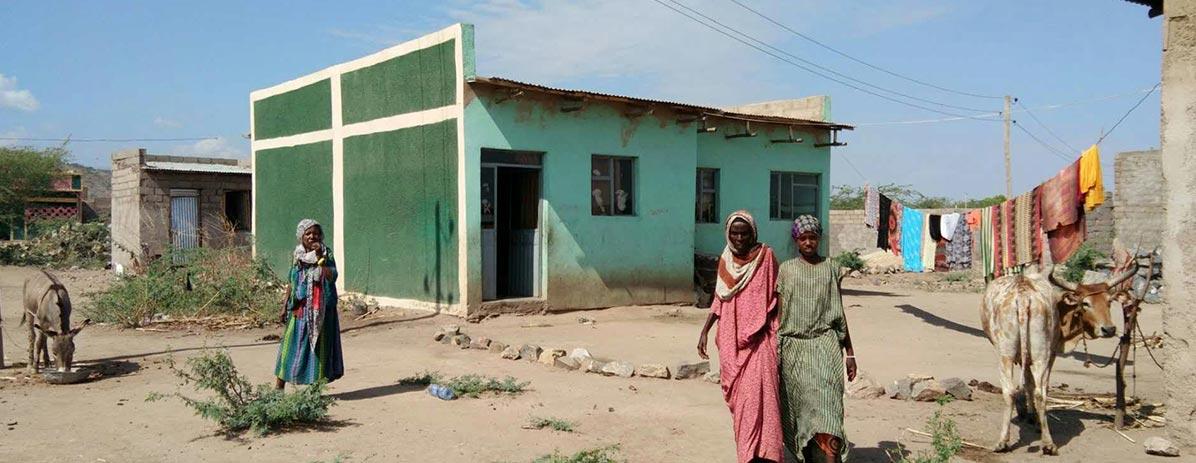 Casas bulidas para local
