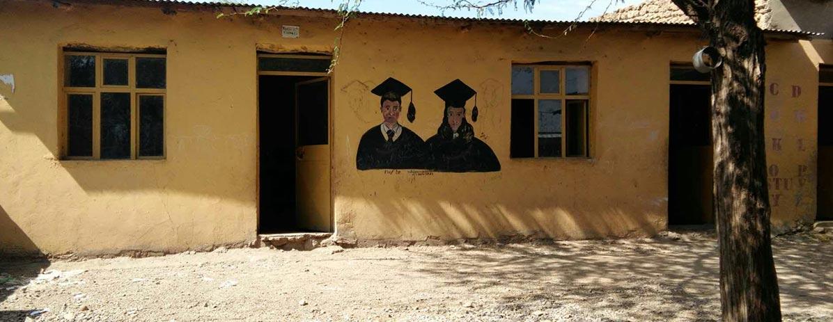 Doe Escola para Vila na Etiópia