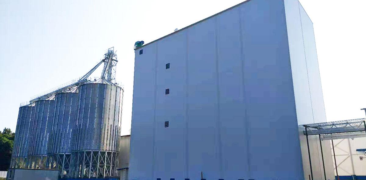 Rússia 180TPD Projeto Turnkey de Moagem de Trigo