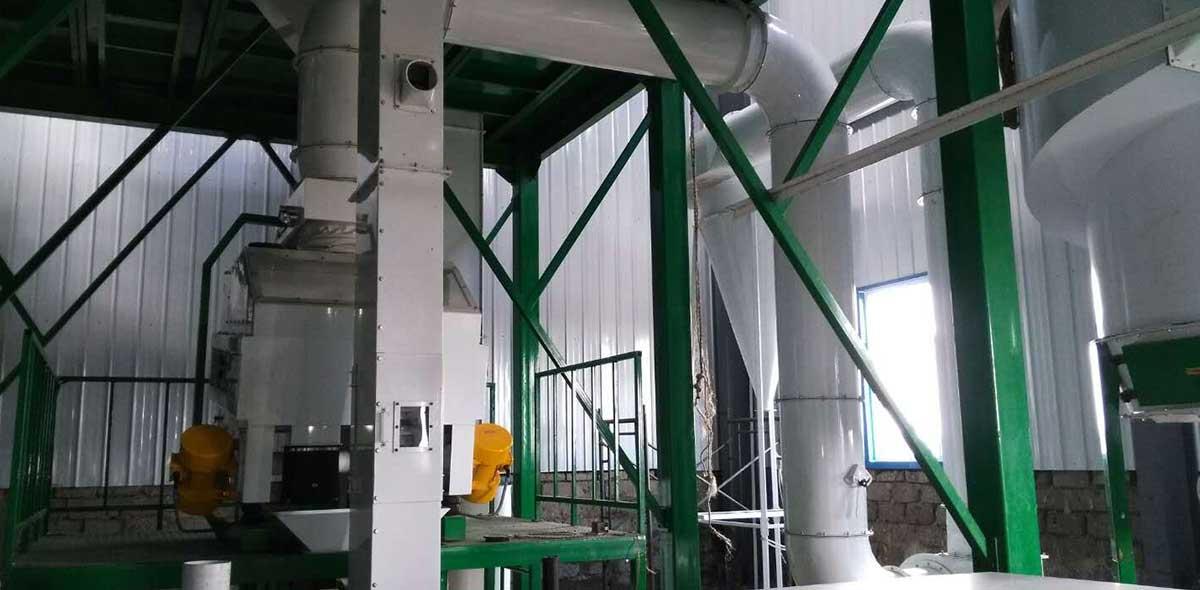 Kenya 100TPD Fábrica de Moagem de Milho