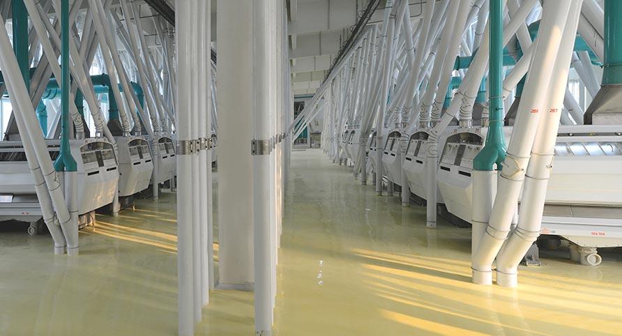 China 1400TPD Planta de Moagem de Trigo