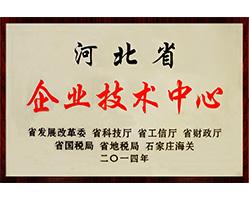 """Em 2014, a Pingle foi honrada como """"Centro Corporativo de Tecnologia da Província de Hebei""""."""