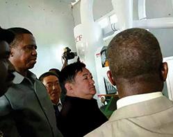 Em 2015, foi celebrado o contrato do projeto de equipamentos de processamento de milho por energia solar da Zâmbia, estabelecendo um novo recorde de preço de venda.