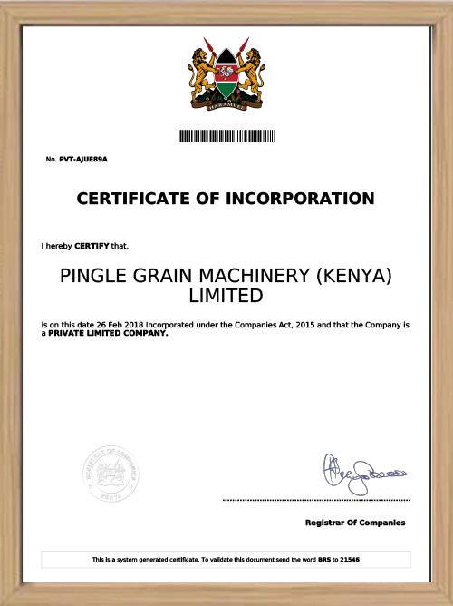 Filial do Quênia